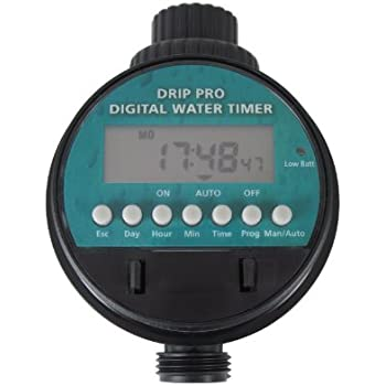 """Amazon.com : Drip Pro Digital Water Timer 3/4"""" FHT Inlet x"""