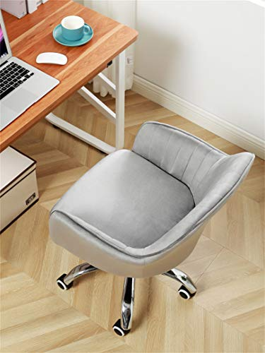 LYJBD hemmakontorsstol, spelstol, skrivbordsstol, datorstol, svängbar stol, tjock kudde dyna flexibel för konferens hem kontor