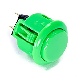 Image of the product Sanwa OBSF 24mm Green that is listed on the catalogue brand of Sanwa Denshi.
