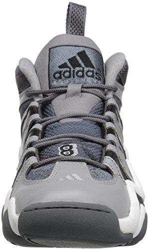 Adidas Performance Mens Crazy 8 Basket Scarpa Leggera Onice / Nero / Piombo