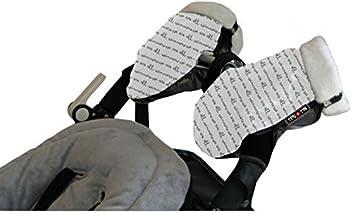 Tris&Ton Manoplas impermeables invierno silla de paseo modelo, guantes prueba de viento forro polar para