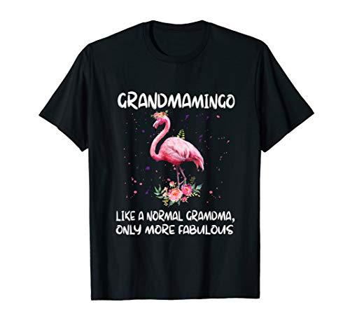 (GRANDMAmingo like a normal GRANDMA only more fabulous tshirt )