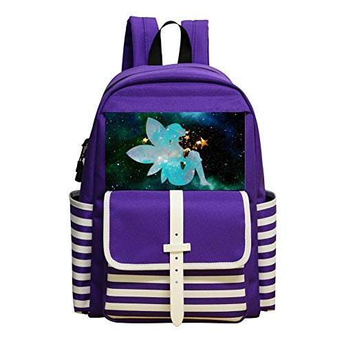The Vastness Of The Universe Children Backpack For School Travel Backpack Of Purple