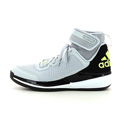 Zapatos de baloncesto adidas Crazy Ghost 2015gris/amarillo neón blanco