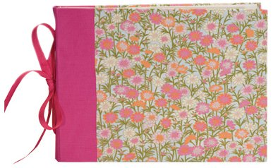 Books By Hand Guest Book, (Pink Bone Folder)