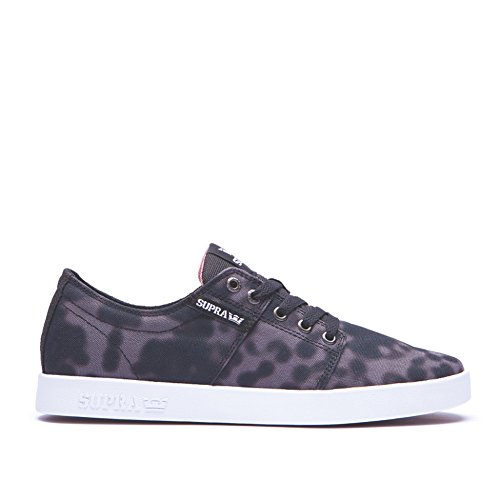 Supra Print Black homme Baskets White II Stacks mode rwqxr8RY