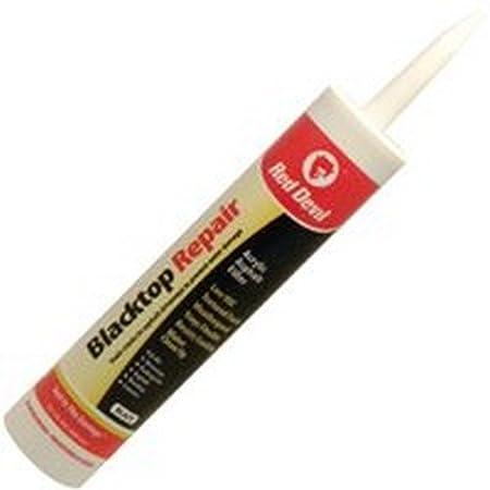 Red Devil 0637 10.1-Ounce Blacktop Driveway Repair Caulk, Black