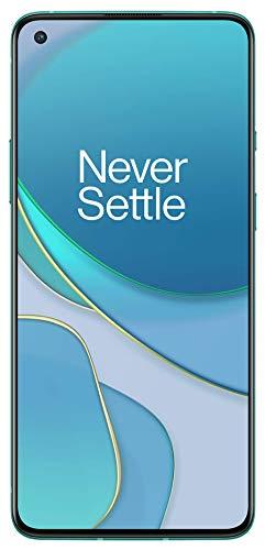 """OnePlus 8T Smartphone 6.55 """"120 Hz FHD + Display Fluido, 12 GB di RAM + 256 GB di Spazio di Archiviazione, Quad camera, 65 W Warp Charge, Dual SIM, 5G, Aquamarine Green 2"""