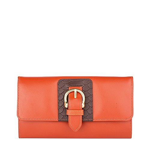 Hidesign Women's Wallet (Orange)