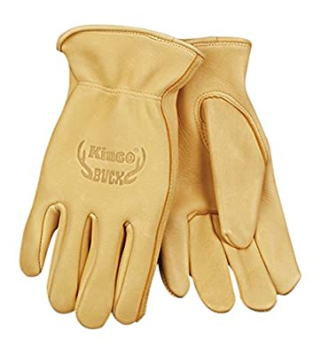 Kinco 80 BUCK Extra Thick Deerskin Leather Ranch and Work Glove