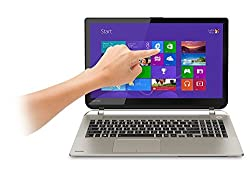 Toshiba S55T 15.6-Inch Touchscreen Laptop / i7-4710HQ / 12GB / 1TB / No Optical Drive / HDMI / WiFi / Webcam / Bluetooth / Windows 8.1 64-bit / Santin Gold
