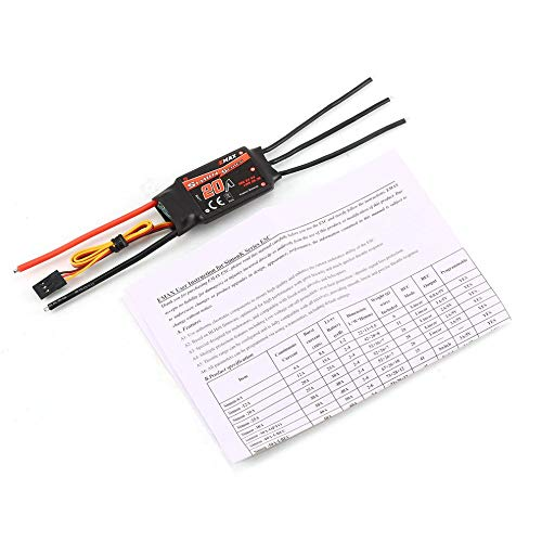 AdaAda Emax SimonK Series 20A Brushless Speed Control 2 3S ESC for Multicopter Drone Black