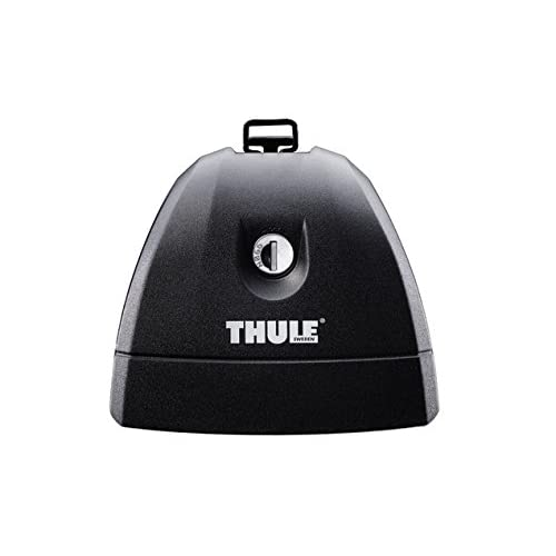 well-wreapped Thule 751 Lot de 4 pieds Rapid Fixpoint XT