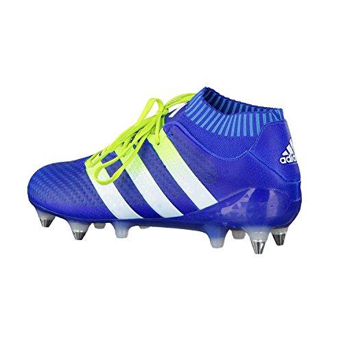Multicolore Seliso Azuimp Blanco 1 16 Primeknit Azul da Ftwbla Verde Calcio SG Uomo Scarpe adidas Ace qz6fzF