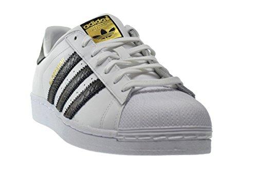 Scarpe Da Uomo Adidas Superstar East River Rival In Esecuzione Bianco Ftw B34308