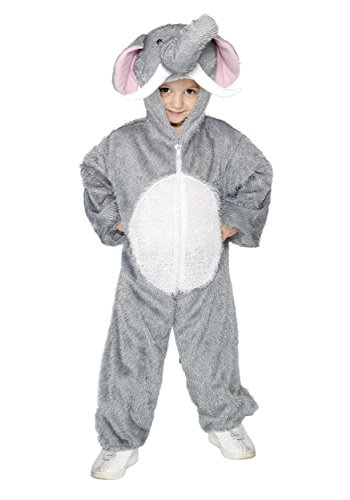 smiffys-kids-unisex-all-in-one-elephant-costume-jumpsuit-with-tail-and-trunk-party-animals-size-m-co