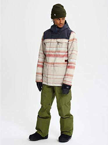 Pelican Tusk Snowboard De Burton Veste Homme denim Covert Stripe CPqwvSzF