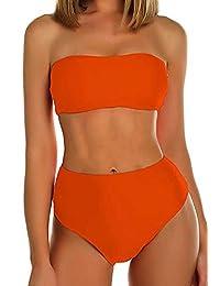 FITTOO Bikini Brasileño Sexy Trajes de baño Dos Pieza de Moda Múltiples Colores