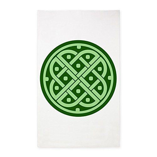3' x 5' Area Rug Celtic Knot Interlinking by Royal Lion