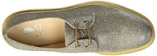 CINTI D1-08 - zapatos Brogue Mujer Multicolore (Oro\\Argento)