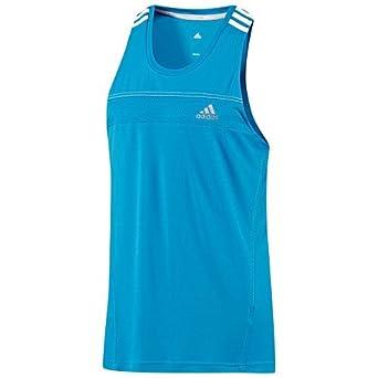 fab9f4d76aaa adidas Response Running Vest Singlet Mens Blue