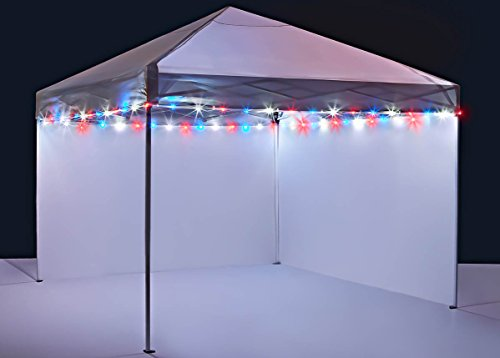 Brightz CanopyBrightz LED Tailgate Canopy and Patio Umbrella Accessory Lighting Kit (Lights Only), -