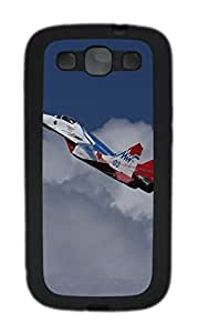 Samsung Galaxy S3 I9300 Cases & Covers - Mig-29 Fighter 2 Custom TPU Soft Case Cover Protector for Samsung Galaxy S3 I9300 - Black