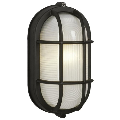 Marine Oval Bulkhead Outdoor Wall Light For Sale