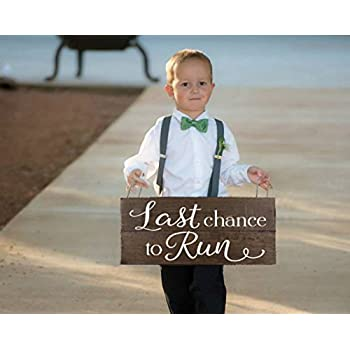 Ring Bearer Here Comes Your Girl Sign