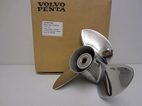 Volvo Penta SX Stern Drive OEM Stainless Steel Prop 14.75 x 19 Propeller 3860708 14-3/4