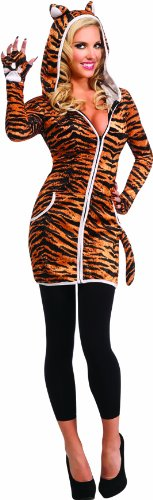 Rubie's Costume Halloween Sensations Urban Tiger Costume, Gold, Standard