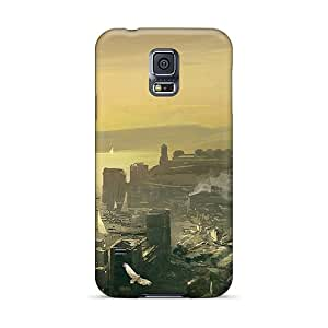 Defender Case For Galaxy S5, Assassins Creed Revelations Constantinople Concept Art Pattern