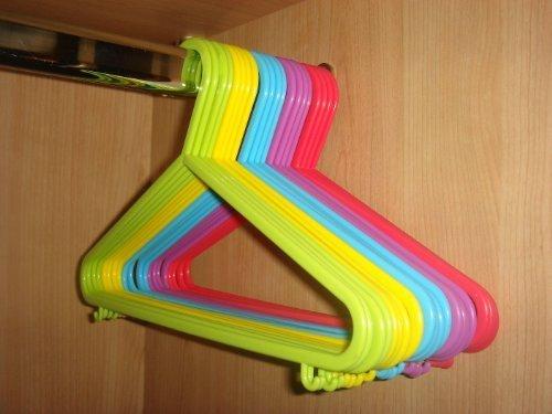 FunkyBuys Kleiderbügel für Kinderkleidung, Kunststoff, 40 Stück