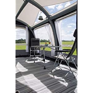 Kampa Exquisite Continental Breathable Groundsheet Carpet to fit Rally AIR Grande