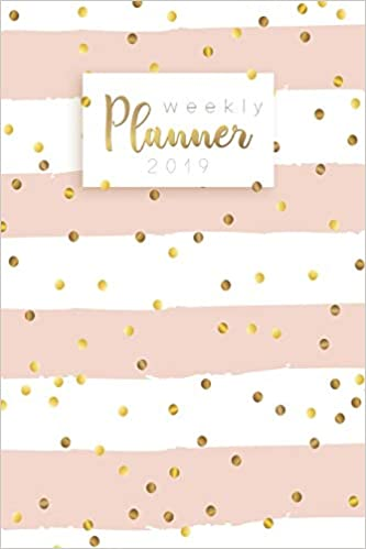 Weekly Planner 2019: Calendar Schedule Organizer and Daily ...