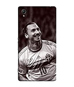 colorking Football Ibrahimovic Sweden 03 Multi Color shell case cover for Sony Xperia XA1