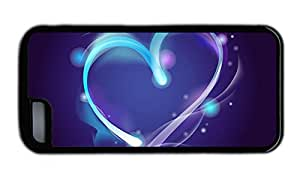 Funny iphone leather covers Blue aura of love TPU Black for Apple iPhone 5C