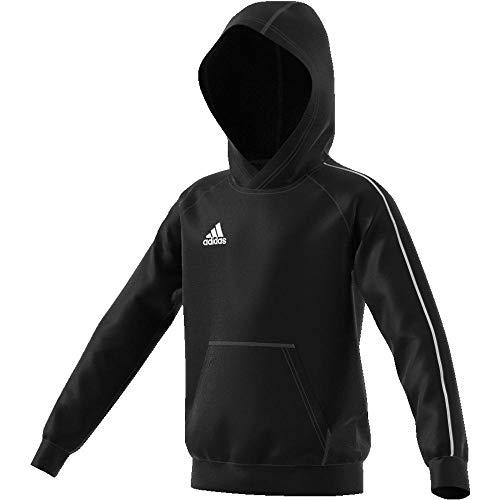 Mixte Core18 Y Hoody shirt blanc Sweat Adidas Noir x87HXAq7w