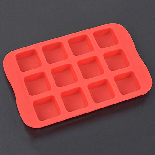 1 piece 1PC 10.515.5cm Silicone Cake Mold Ice Tray Pudding Makers Cube Chocolate DIY Baking Tools 4 Shapes Star Heart Circle Square (Best Diy Kinetic Sand Recipe)