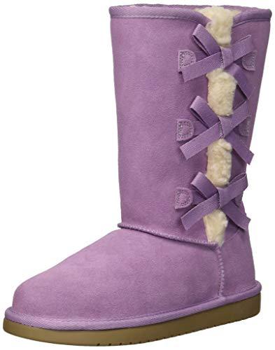 Koolaburra by UGG Unisex K Victoria Tall Fashion Boot, Lavender Mist, 04 Medium US Big -