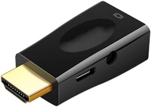 GWWDNB-XXB Colorido Adaptador de HDMI a VGA Proyector de TV con ...