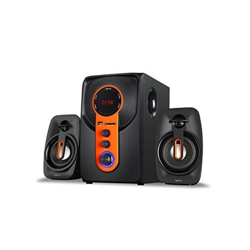 QFX Qsrock 21 Channel Multimedia Bluetooth Speakers