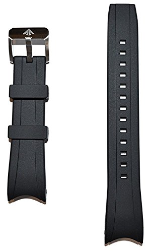 Original Citizen Promaster Black Rubber Band Strap for BJ2115-07E, BJ2117-01E, BN0085-01E ()