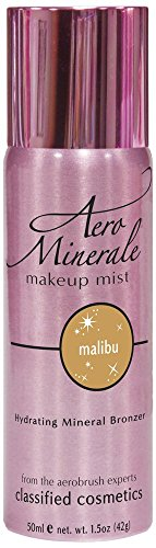 Aero Minerale Bronzer Makeup Mist, Malibu