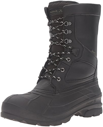 Kamik Mens Nationpro Snow Boot Black