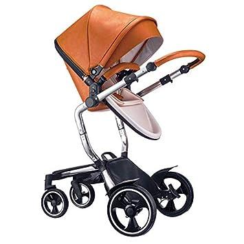 7fc1d04ed163 Amazon.com   SpringBuds High Landscape Baby Stroller 3 in 1 Travel System  Luxury Newborn Pram (Brown)   Baby