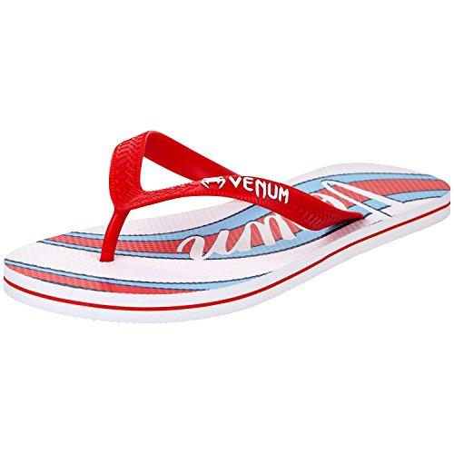 Venum Men's Cutback Flip Flops Blue (Blu Real/Rosso 001) cCJWhw
