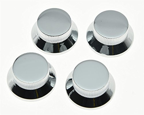 guitar knobs chrome - 5