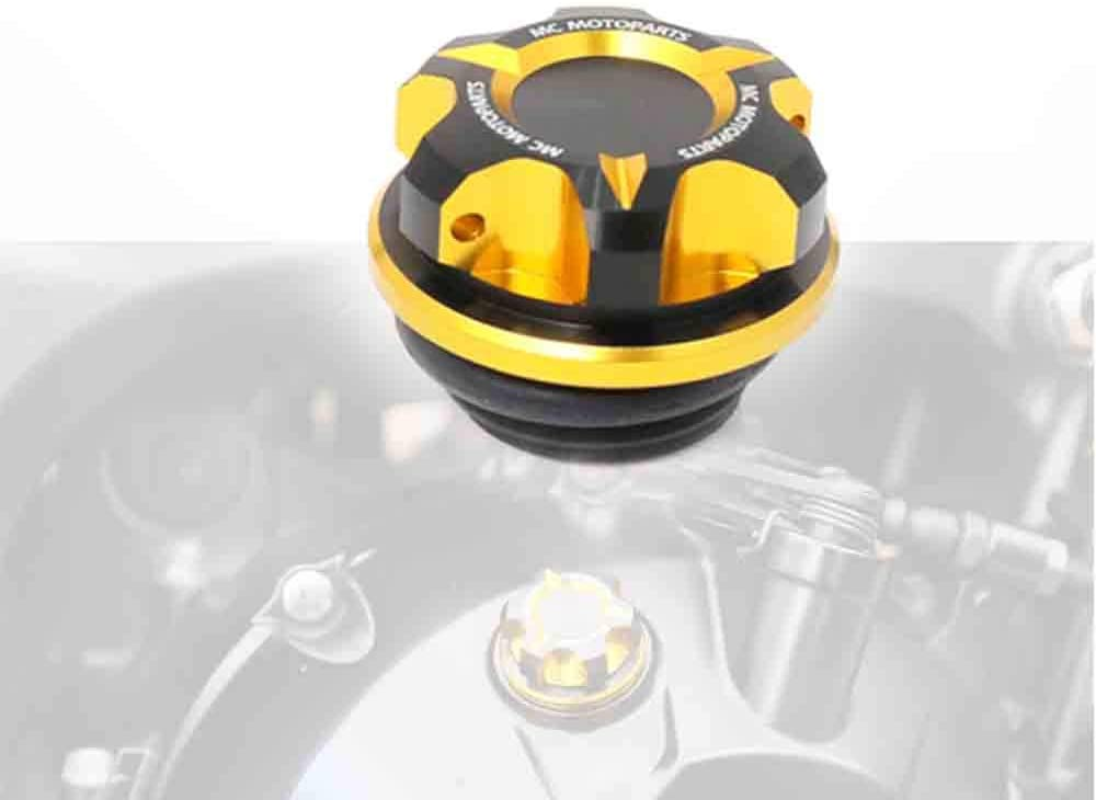 CB1000R NEO SPORTS CAFE Rebel CMX500 Rebel 300 MC MOTOPARTS T-Axis Gold CNC Oil Filler Cap For Honda CMX250 Rebel