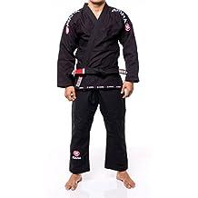 Atama Mundial #9 Jiu Jitsu Gi (White, Black, Blue) + 30 Day Comfort Guarantee